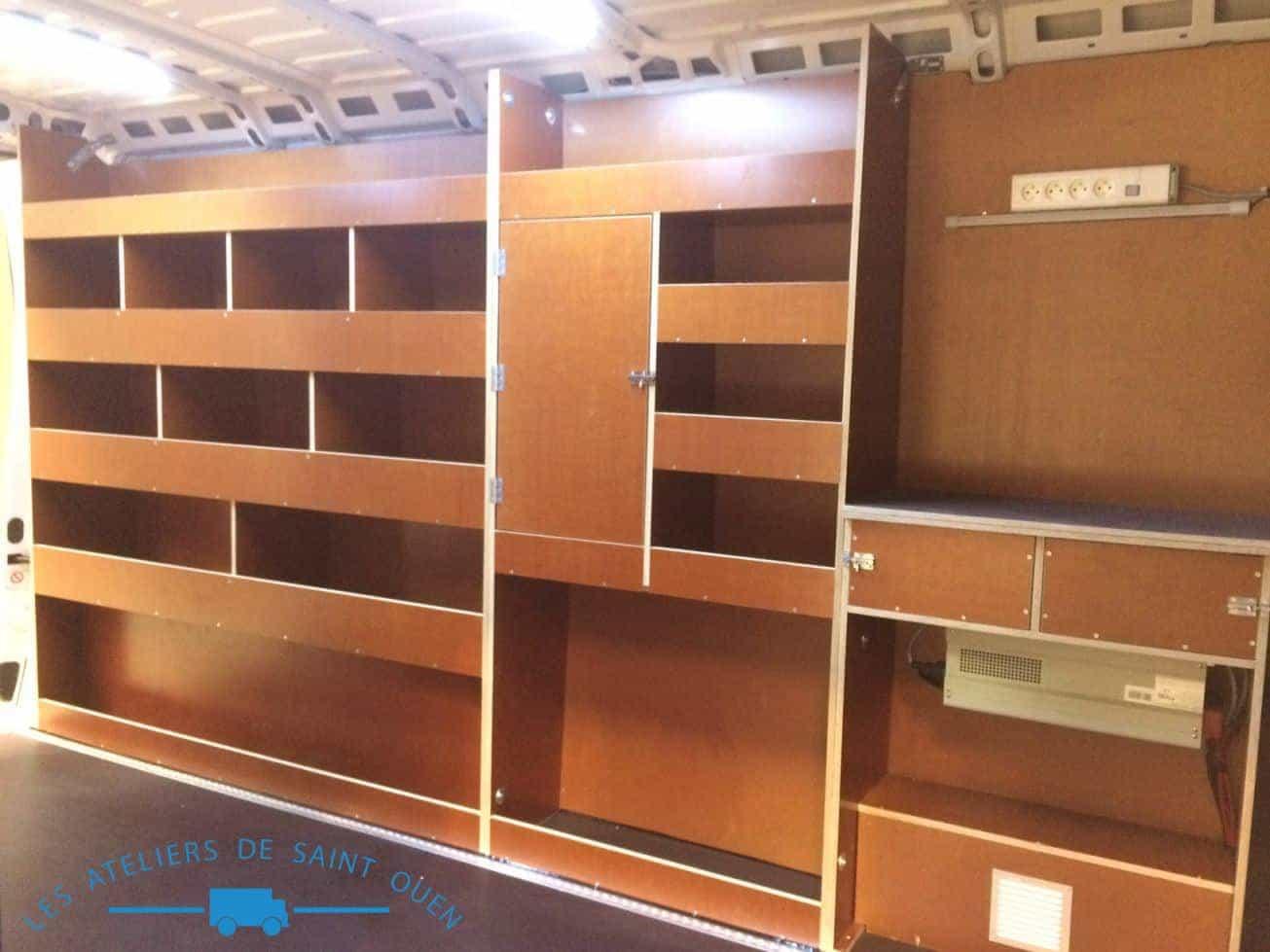 etag re sur mesure pour v hicule type utilitaire et. Black Bedroom Furniture Sets. Home Design Ideas
