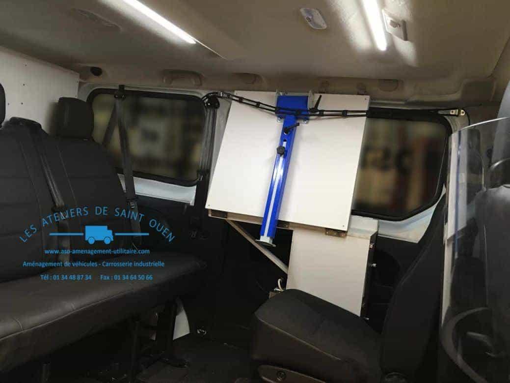 bureau mobile am nagement v hicule bureau mobile. Black Bedroom Furniture Sets. Home Design Ideas