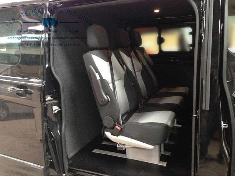 utilitaire ford custom et ford transit installation de cabine approfondie. Black Bedroom Furniture Sets. Home Design Ideas