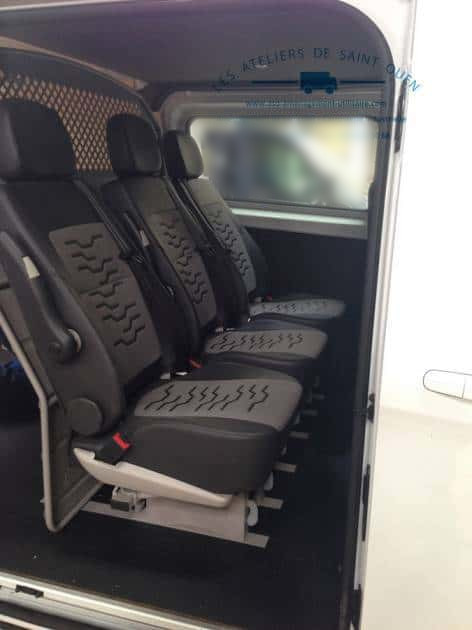 Ford Transit Connect >> Utilitaire Ford Custom et Ford Transit, installation de cabine approfondie