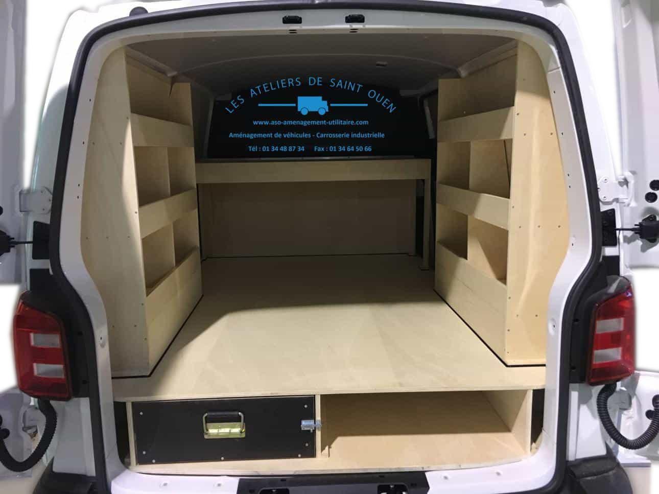 optimisez le volume de votre vehicule utilitaire avec une tag re de rangement. Black Bedroom Furniture Sets. Home Design Ideas