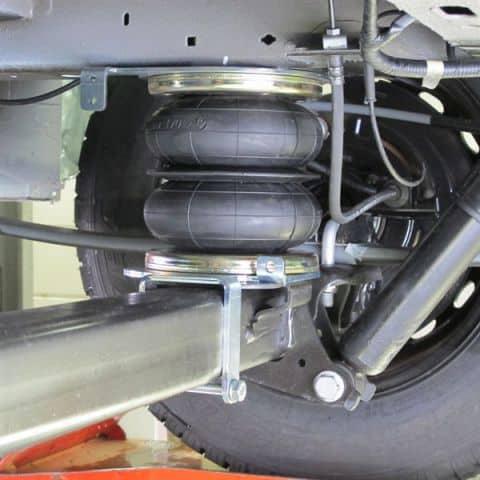 Renfort de suspension pour vhicule utilitaire et fourgon